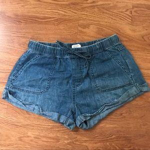 "Volcom Elastic ""Jean"" Shorts"